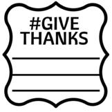 #GIVETHANKS Activity
