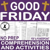 {GOOD FRIDAY} { EASTER BIBLE ACTIVITIES} {EASTER RELIGIOUS}
