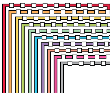 Color Borders and Frames - Page Borders and Frames, Doodle Borders