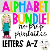 Alphabet Letter of the Week Bundle!