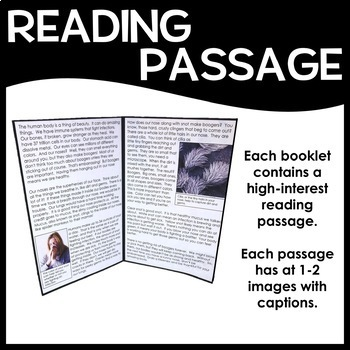High-Interest Texts - Gross Stuff - 10 Reading Comprehension Passages