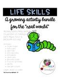 {GROWING BUNDLE} Life Skills Activities
