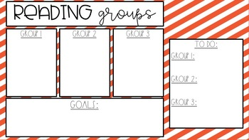 (GROWING BUNDLE} Math AND Reading Timer Slides {EDITABLE}
