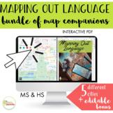 NO PRINT Mapping Out Language Functional Life Skills BUNDLE