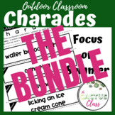 Outdoor Classroom Drama Game | Charades BUNDLE!