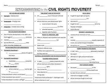 *GROWING* Civil Rights Movement Bundle