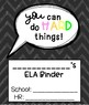 **GROWTH MINDSET** Binder Covers