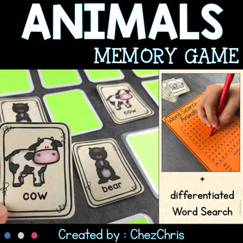 [Game] Animals Memory : 42 cards