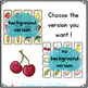 Fruit and Vegetables Memory Game - Vocabulary and Word Search game