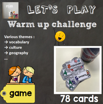 [Game] Warm up challenge