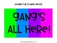 """Gang's All Here"" Board - Neon Rainbow (Editable!)"