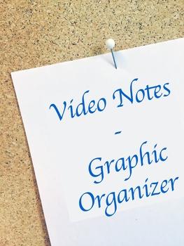 [Generic] Video Notes Graphic Organizer