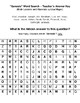 "Word Search - A preview of the book of ""Genesis"" with Answer Key - Print and Go"