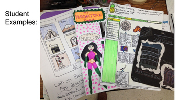 """""""Geo Gems"""" World Geography Project - Utopia, Action Figure, iPad, Shopping Cart"""