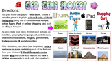"""Geo Gems"" World Geography Project - Utopia, Action Figure, iPad, Shopping Cart"