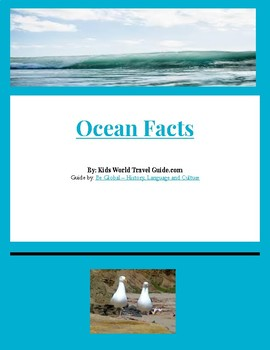(Geography Basics) Ocean Facts for Kids - Internet Reading Research Guide