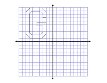 """""""Geometry is Awesome"""" Letter Transformation Activity"""
