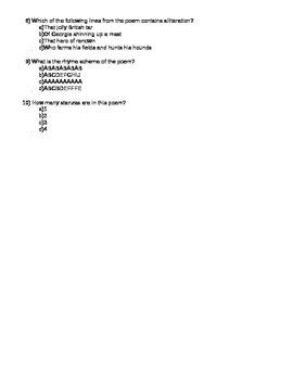 """George Washington"" Quiz Core Knowledge"
