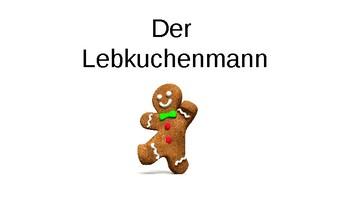 (German) Der Lebkuchenmann - The Gingerbread Man - Story and Activities