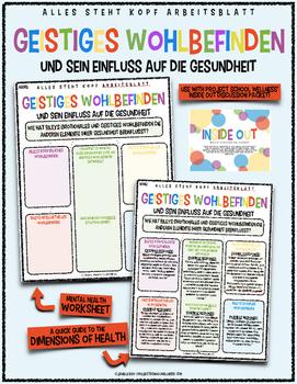 (German, Inside Out Lesson Plans) Inside Out: Mental Healt
