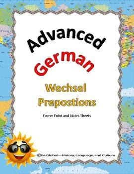 (German Language) Wechsel Prepostions - Advanced German (Two Way Preps)