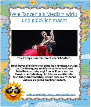(German Language) Wie Tanzen als Medizin wirkt und glücklich macht - Dancing