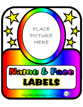 **Get Ready for BACK TO SCHOOL with FACE TO NAME LABELS!!**