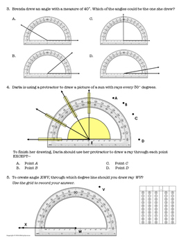 *Get STAAR Ready!* Mastery Quiz: Draw Angles with Protractors {TEKS 4.7D}