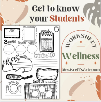 """Get to know you"" Worksheet 