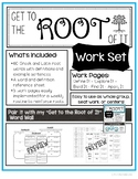 """Get to the Root of It"" Work Set - Greek and Latin Roots"