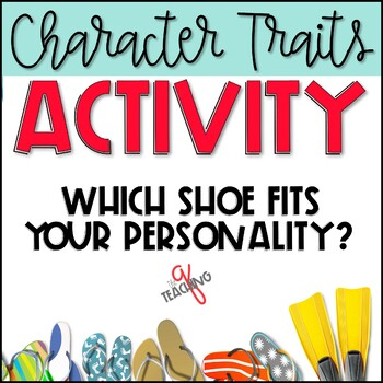 """Getting to Know You"" Back to School Activity-Which Shoe Fits Your Personality?"