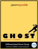"""""""Ghost"""" by Jason Reynolds Novel Study"""
