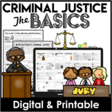 Criminal Justice Basics - Gifted and Talented Activity