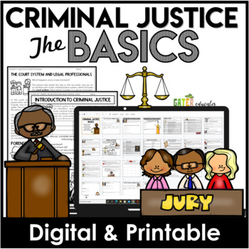 Criminal Justice Basics | Enrichment Activity