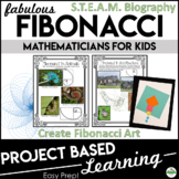 Fibonacci Project Based Learning | STEM Activities | Math Games