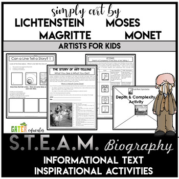** Gifted and Talented ** - The Story of ART-telling - 2 1/2 Hour Activity