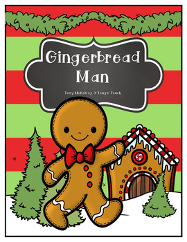 """Gingerbread Man"" Math, Literacy and Craftivity"