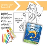 """""""Giraffes Can't Dance"""" Book Focused Projects"""