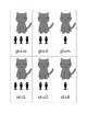 """Give a Cat a Fish"" Blends Phonics Card Game"