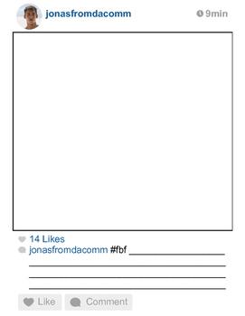 """The Giver"" Instagram Worksheet/Activity"