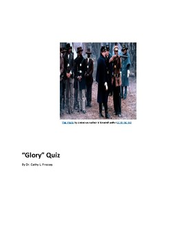 """""""Glory"""" Quiz"""