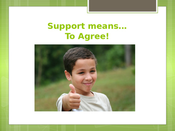 """""""Go Math""""  Chapter 1 Thoughtful Ed Support/Refute Review PowerPoint"""