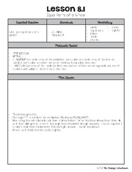 {Go Math - Third Grade} Engaging Lesson Plans - Chapter 8