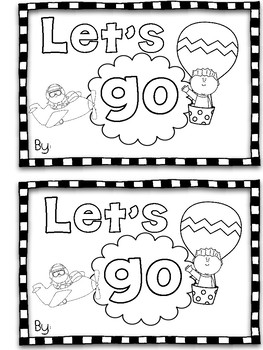 """Go"" Sight Word Mini Book"