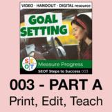 Goal Setting Lesson SEOT 003 A: Measure Progress ⭐ Google