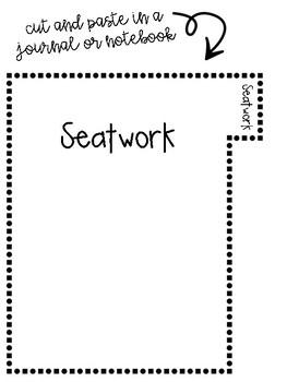 #GoalGetter TenMarks Tracking sheet - Folder and Journal Resource Bundle