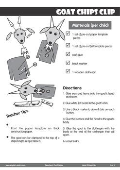 # Goat Chips Clip Craft