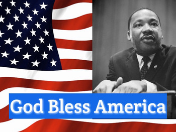 """God Bless America"" Sing-along mp4 Video Performance Track"