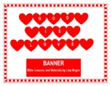 """""""God is Love"""" Banner - Decor with a True Message!"""