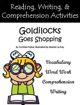 """""""Goldilocks Goes Shopping"""" Guided Reading Program Work"""